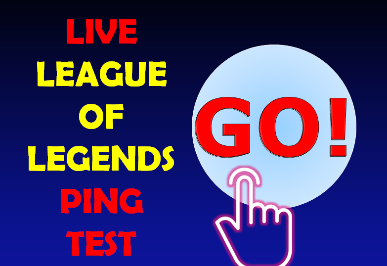 live league of legends ping test